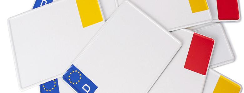 Euro - Kennzeichen