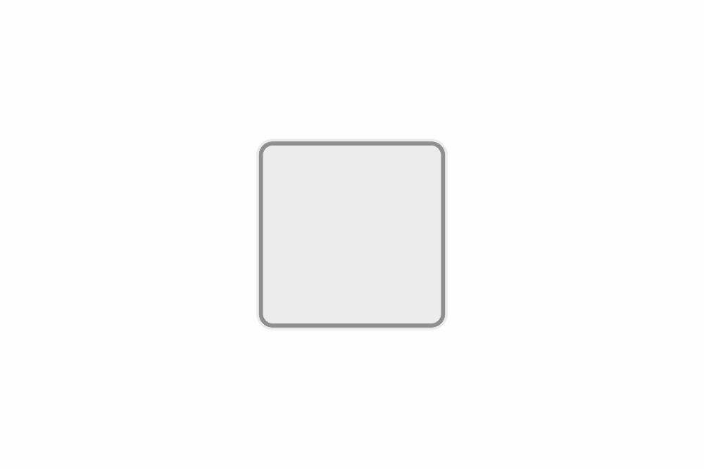 Schild weiß reflex 163 x 163 x 1 mm