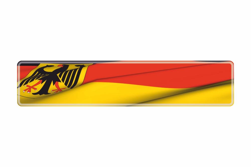 Schild Deutschlandadler 520 x 110 x 1 mm