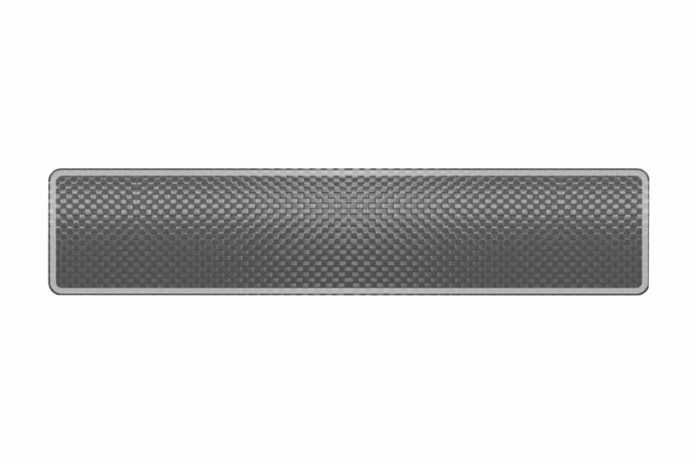 Schild Carbon reflex 520 x 110 x 1 mm