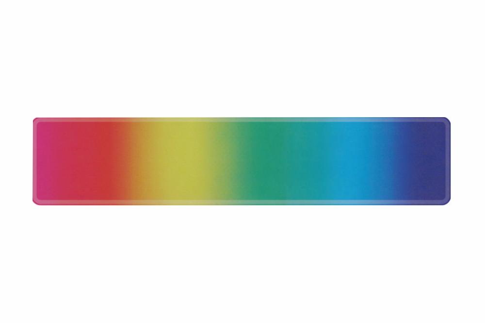 Schild Regenbogen 520 x 110 x 1 mm