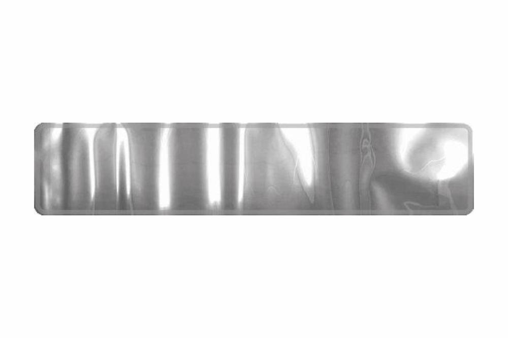 Schild Chrome 520 x 110 x 1 mm