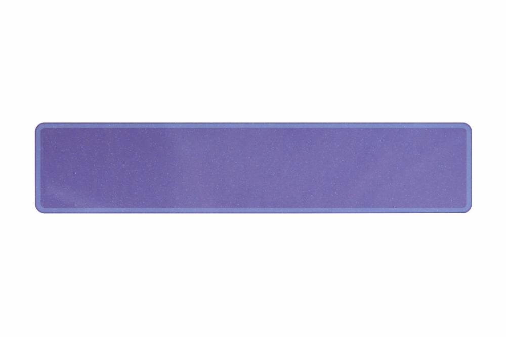Schild sparkling lila 520 x 110 x 1 mm