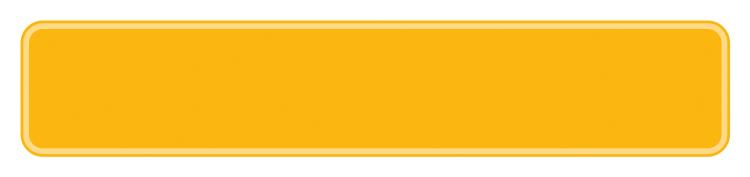 Schild gelb reflex 380 x 73 x 1 mm