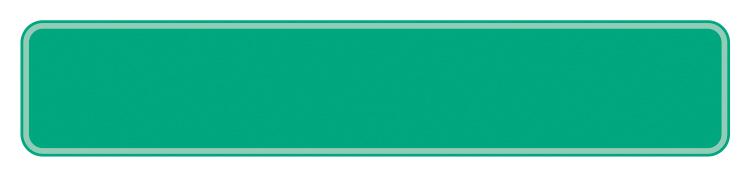 Schild hellgrün reflex 380 x 73 x 1 mm