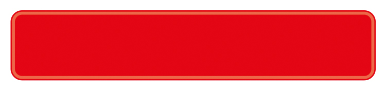 Plate red reflex 380 x 73 x 1 mm