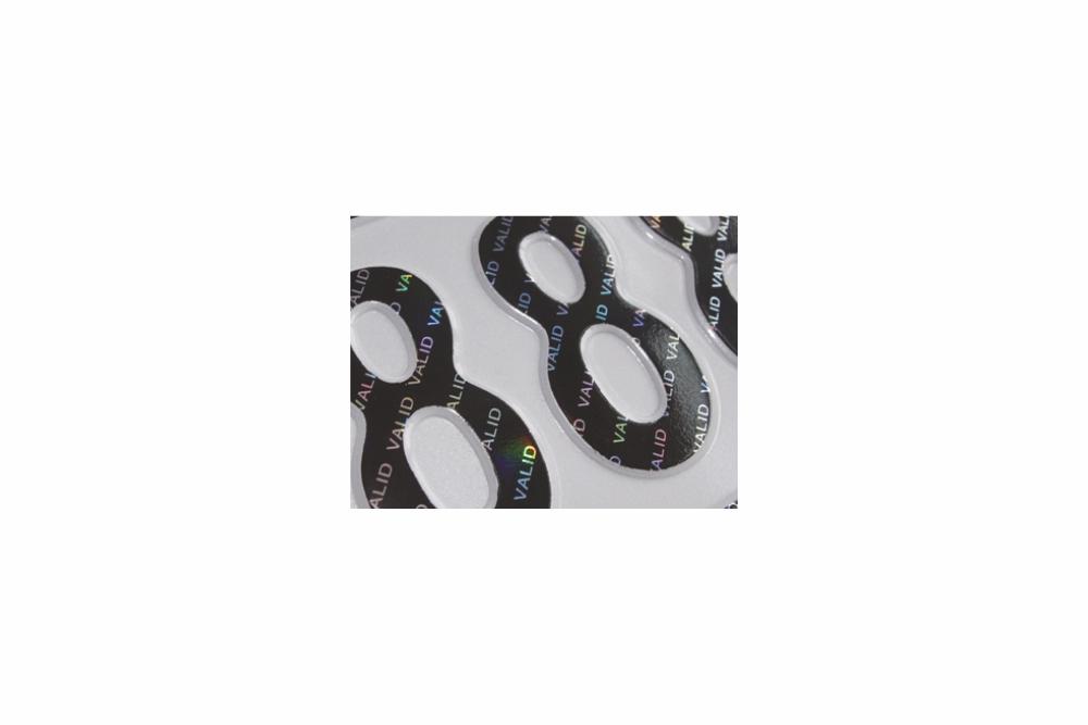Heißprägefolie schwarz 305 m x 120 mm VALID holographic