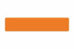 Schild orange reflex 520 x 110 x 1 mm