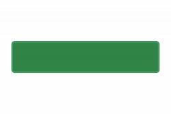 Schild grün reflex 520 x 110 x 1 mm