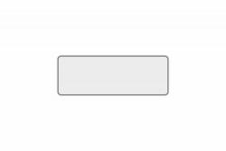 Schild weiß reflex 300 x 110 x 1 mm