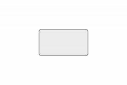 Schild weiß reflex 240 x 130 x 1 mm