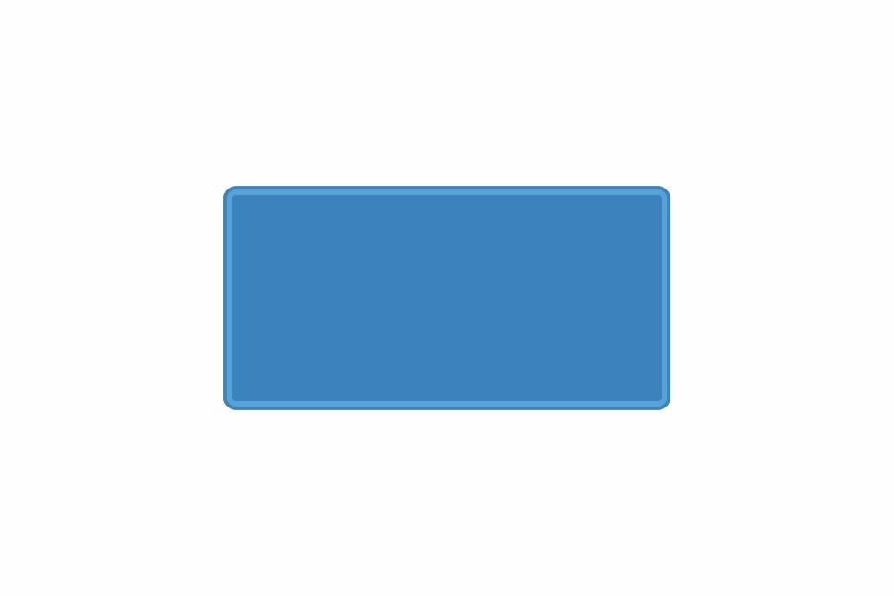Schild hellblau reflex 300 x 150 x 1 mm