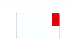 License Plate Export / Customs white reflex 340 x 200 x 1 mm