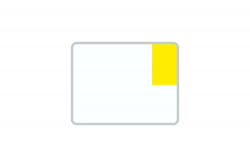 License Plate Short-Term / Temporary white reflex 260 x 200 x 1 mm