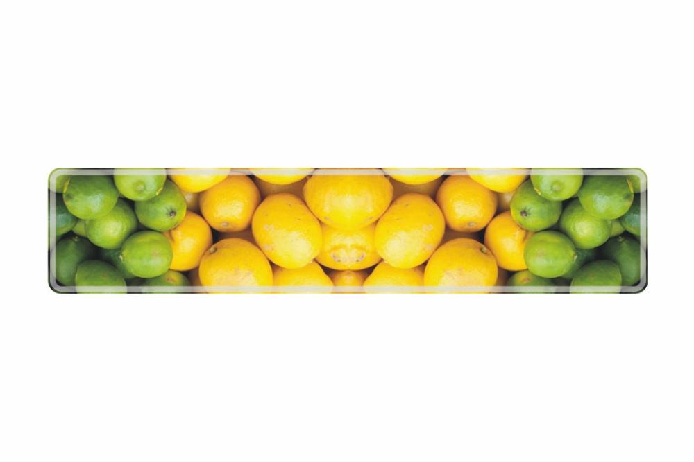 Schild Zitrone 520 x 110 x 1 mm