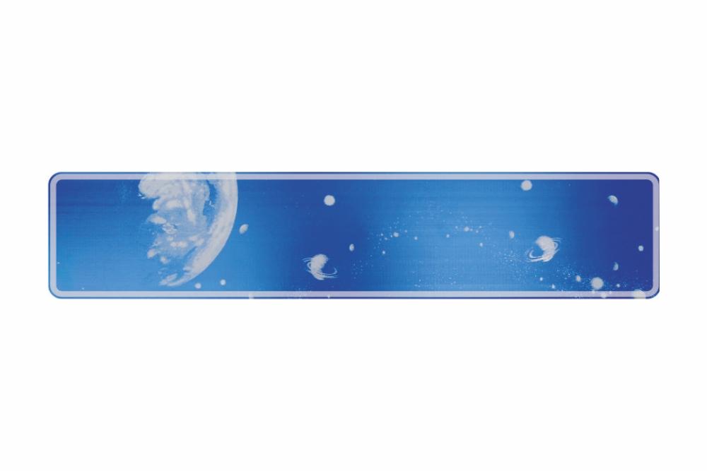 Schild Ozon 520 x 110 x 1 mm