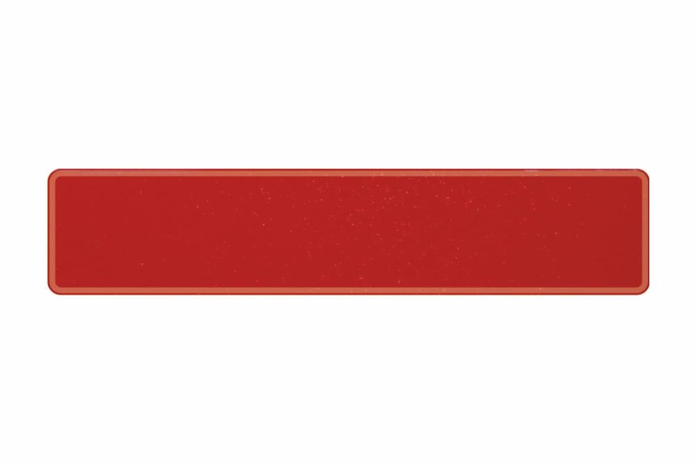 Schild sparkling rot 520 x 110 x 1 mm