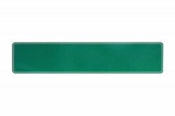 Plate sparkling forest green 520 x 110 x 1 mm