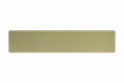 Plate sparkling gold 520 x 110 x 1 mm