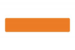 Schild orange 520 x 110 x 1 mm
