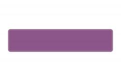Schild violett 520 x 110 x 1 mm