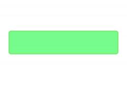 Schild lindgrün 520 x 110 x 1 mm