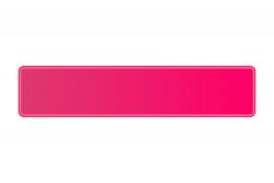 Schild pink fluoreszierend 520 x 110 x 1 mm