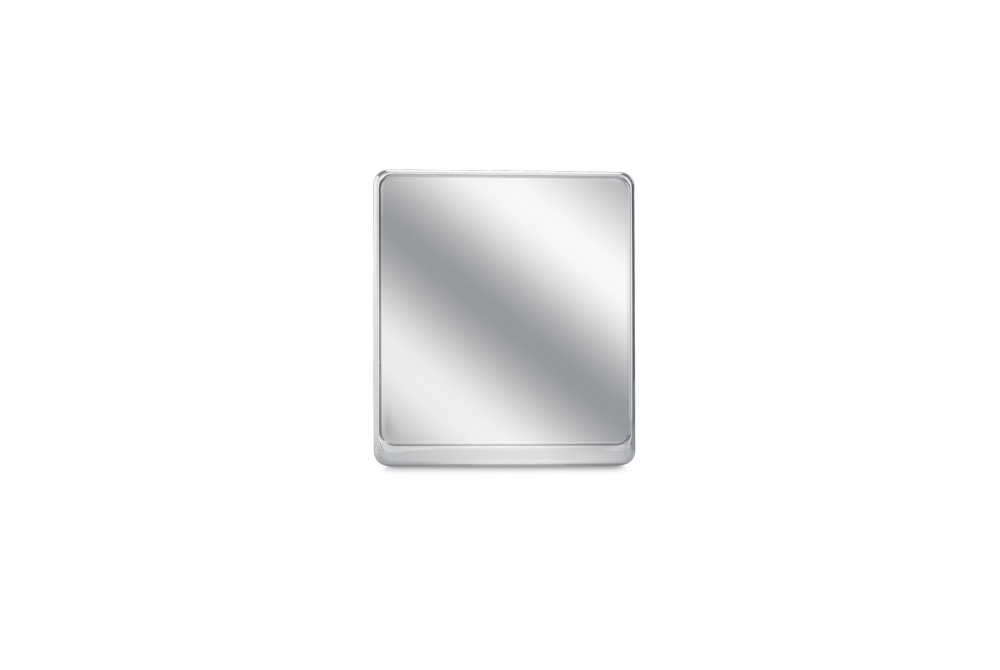 Alu-Verstärker 180 x 200 mm Premium Chrom