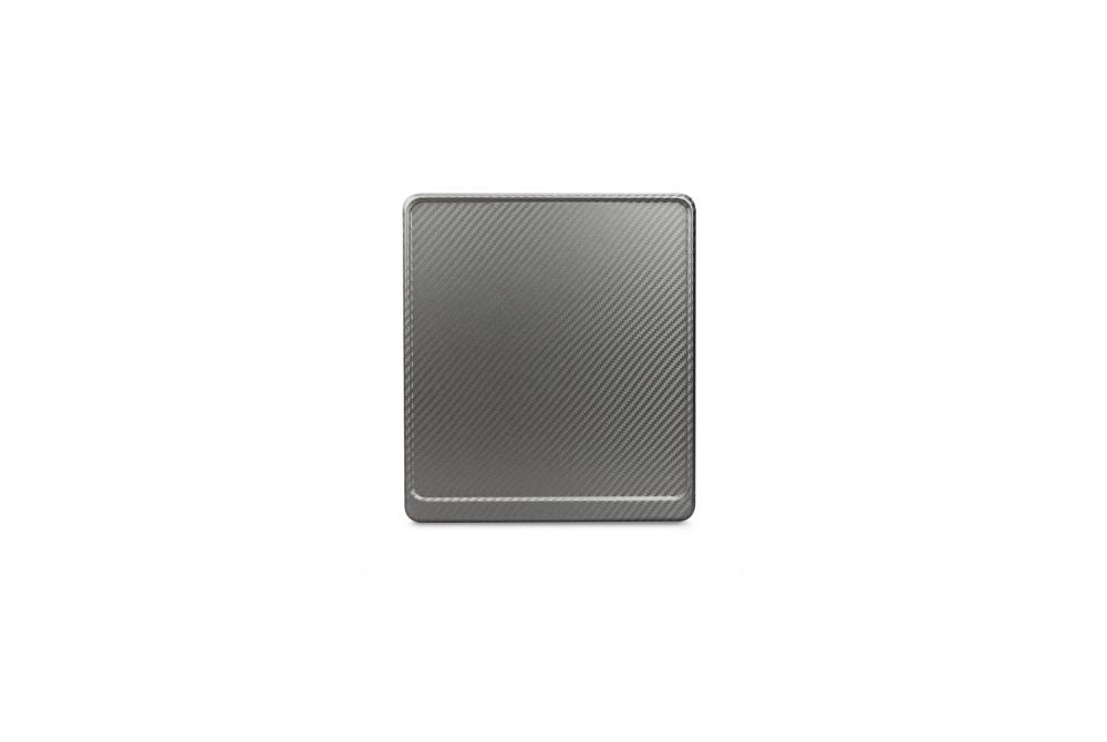 Alu-Verstärker 180 x 200 mm Premium Carbon