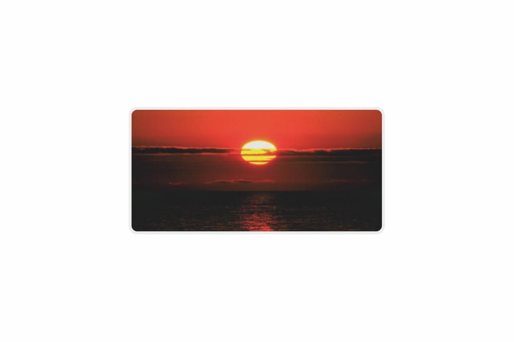 Schild Sun Down 300 x 150 x 1 mm