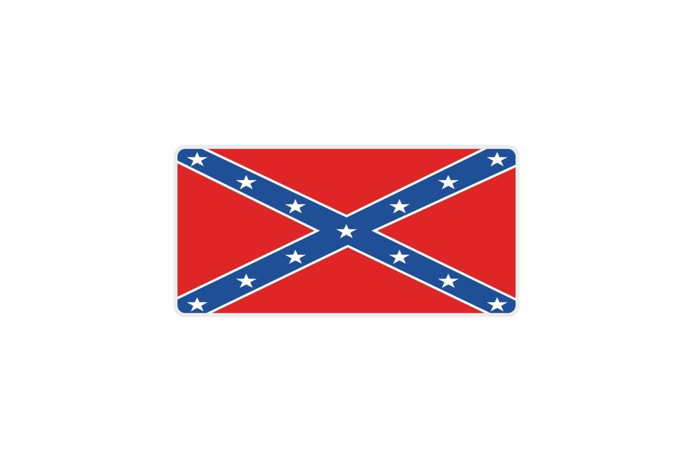 Schild Südstaaten 300 x 150 x 1 mm