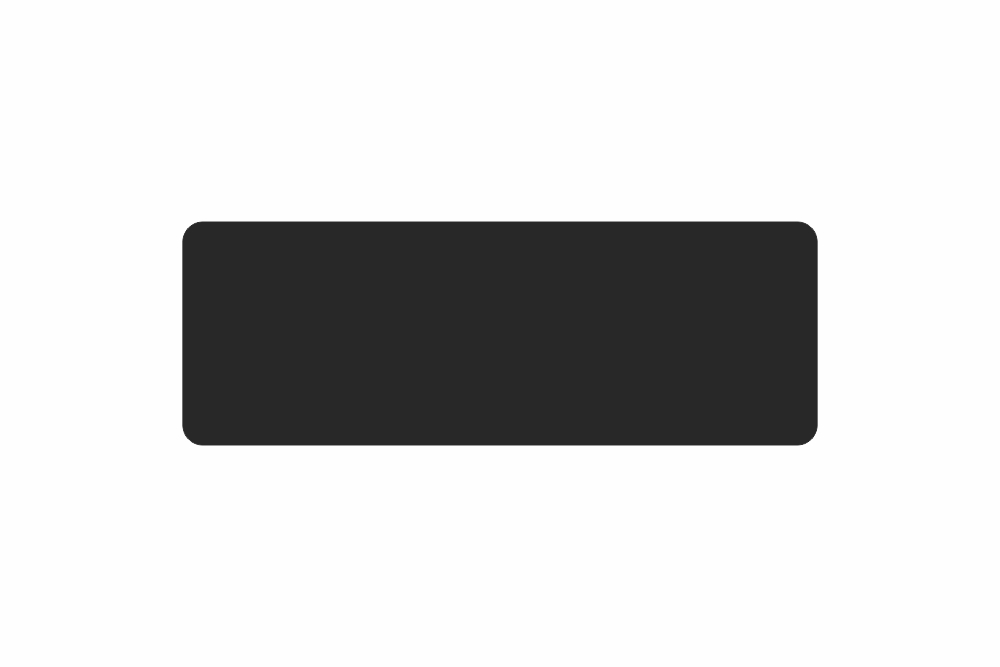 Schild schwarz matt 381,0 x 134,0  x 1,0 mm GLATT PREMIUM