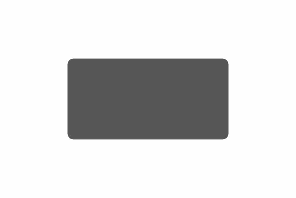 Schild schwarz matt 326 x 163 x 1 mm PREMIUM GLATT