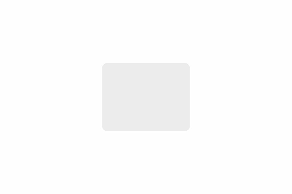 Schild weiß reflex 180 x 140 x 1 mm GLATT