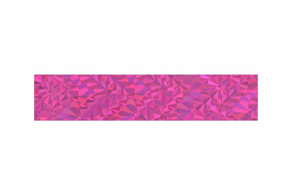 Heißprägefolie glitzer pink 61 m x 120 mm
