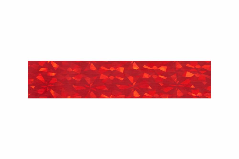 Heißprägefolie glitzer rot 61 m x 120 mm
