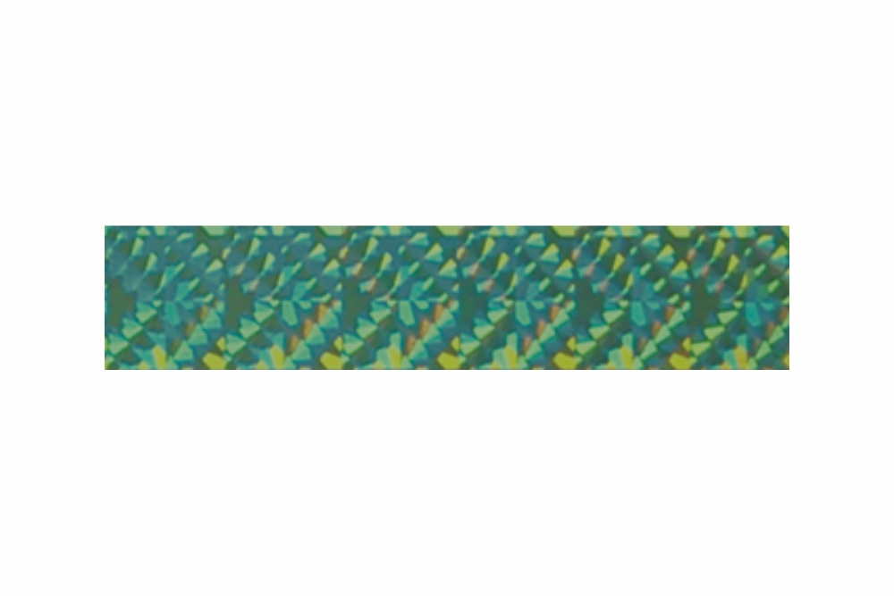 Heißprägefolie glitzer grün 61 m x 120 mm