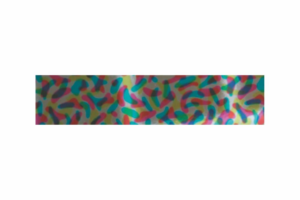 Heißprägefolie Multicolor 61 m x 120 mm