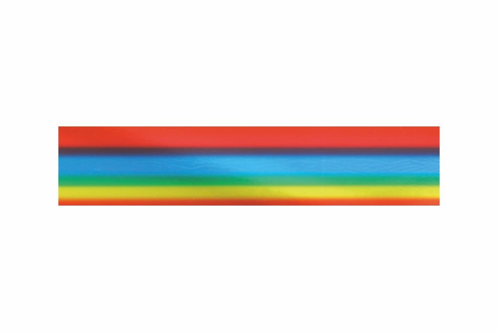 Heißprägefolie Regenbogen 61 m x 152,5 mm