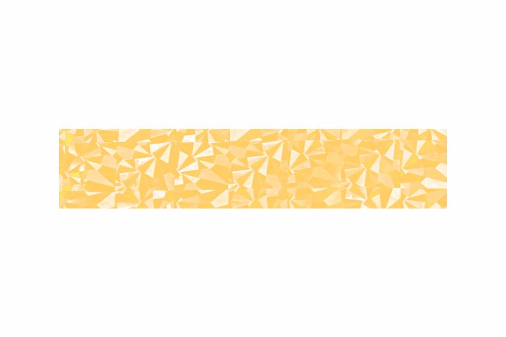 Heißprägefolie glitzer gold 61 m x 152,5 mm