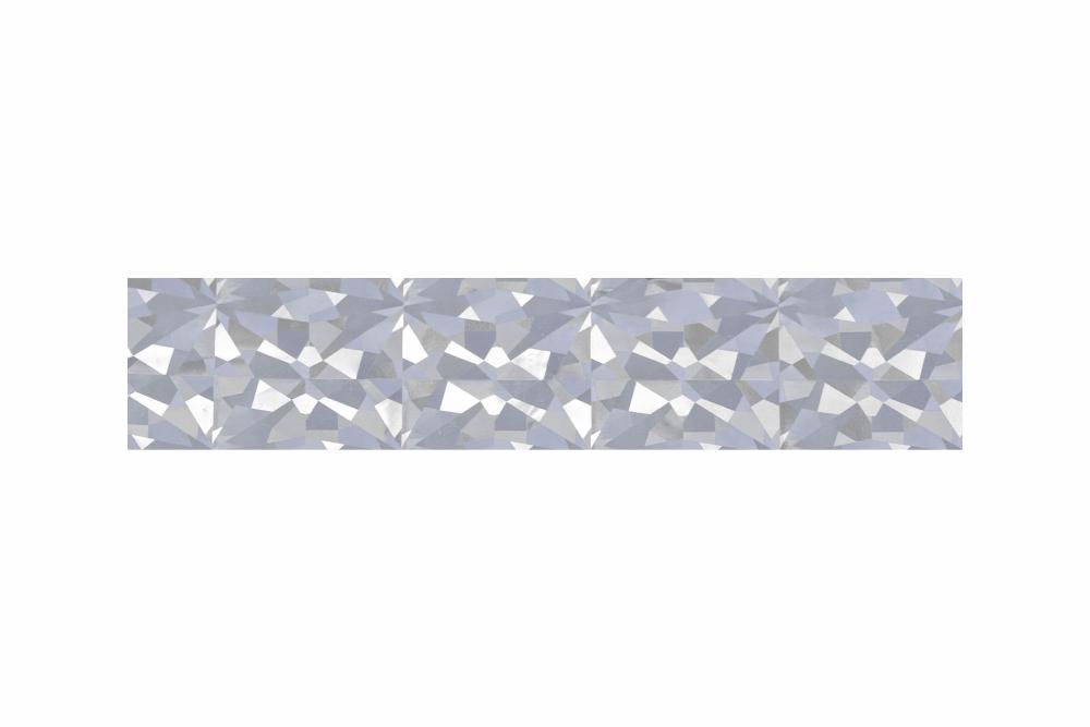 Heißprägefolie glitzer silber 61 m x 152,5 mm