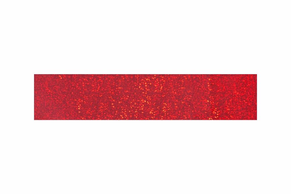 Heißprägefolie sparkling rot 61 m x 120 mm