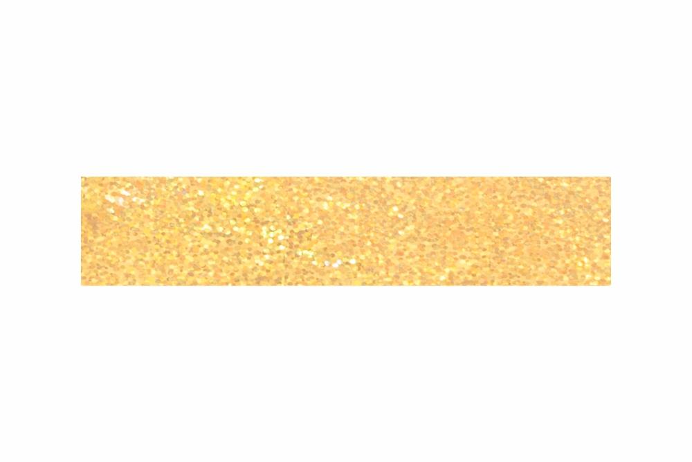 Heißprägefolie sparkling gold 61 m x 120 mm