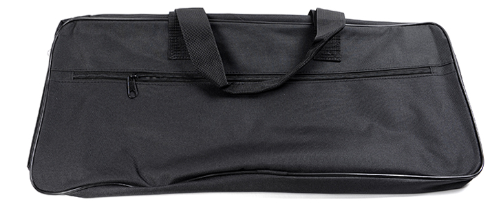 Bag for plates black